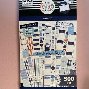 Happy Planner Indigo Sticker Book